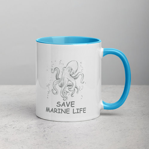 05 Save Marine Life Mug - Save Water life