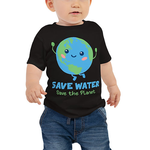 Save Water Save the Planet Baby Tee
