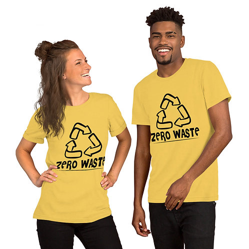 Zero Waste T-shirt for Women and Men - Stop food waste collection 02
