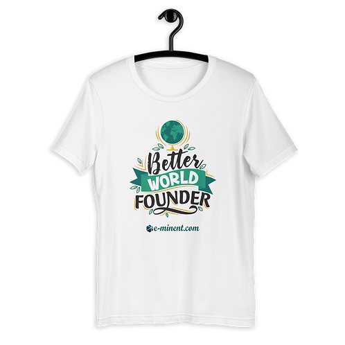 01 Better World Founder T-Shirt - Exclusive Collection