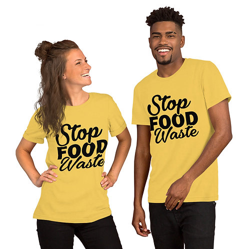 Stop food waste T-shirt for Women and men - Stop food waste collection 01