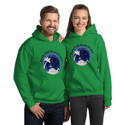 03 Save the Blue Stuff T-Shirt  Hoodie for Women & Men - Save Water Life