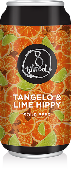 8 Wired TANGELO & LIME HIPPY BERLINER 4.5% 24 x 440ml CANS