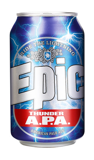 Epic THUNDER APA 5.8% 24 x 330ml CANS