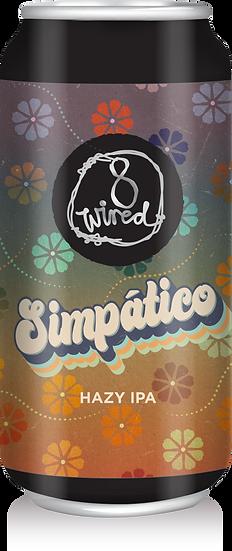 8 Wired SIMPATICO Hazy IPA 24 x 440ml CANS