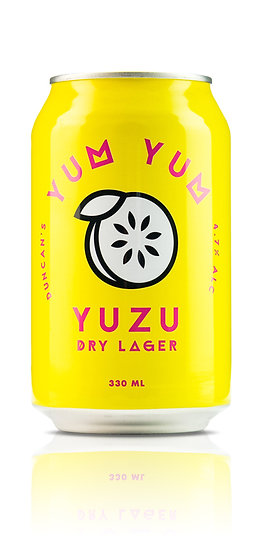 Duncan's Yum Yum Yuzu Dry Lager 5.0% 24 x 330ml CANS