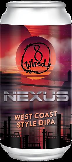 8 Wired NEXUS West Coast IIPA 8.0% 24 x 440ml CANS