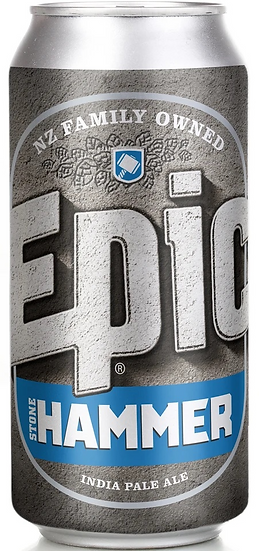 Epic STONEHAMMER IPA 7.0% 24 x 440ml CANS