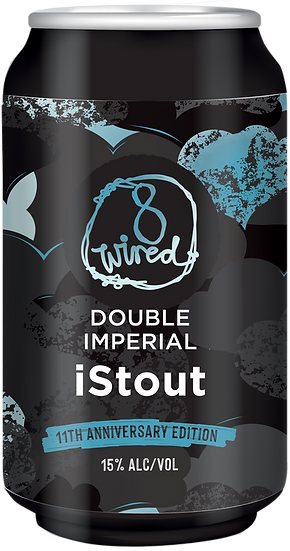 8 Wired DOUBLE IMPERIAL i STOUT 15.0%  24 x 330ml CANS