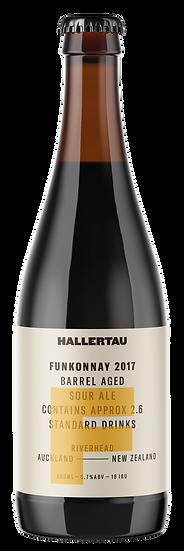 2017 Hallertau FUNKONNAY 6.5% 12 x 500ml7