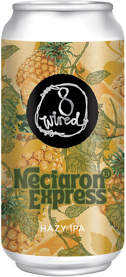 8 Wired NECTARON EXPRESS Hazy IPA 7.0%  24 x 440ml CANS