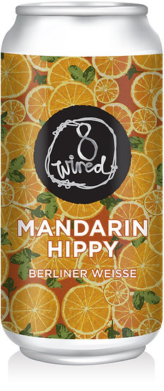 8 Wired MANDARIN HIPPY Berliner Weisse 4.5% 24 x 440ml CANS
