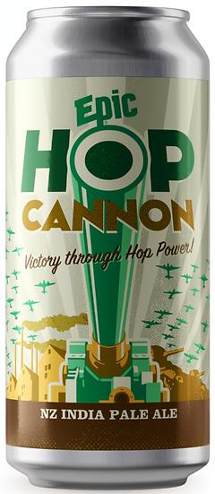 Epic HOP CANNON NZIPA 6.5% 24 x 440ml CANS