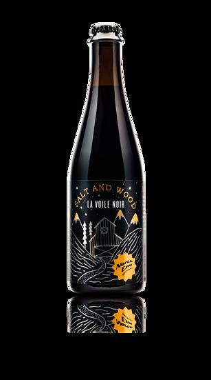 """North End 'La Voile Noir"""" Blended Dark Saison 6.0% 12 x 500ml"""
