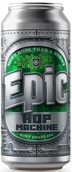 Epic HOP MACHINE WCIPA 6.4% 24 x 440ml CANS