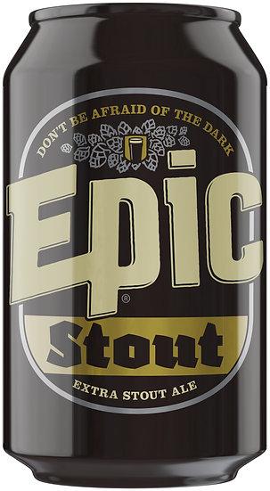 Epic STOUT 4.8% 24 x 330ml CANS