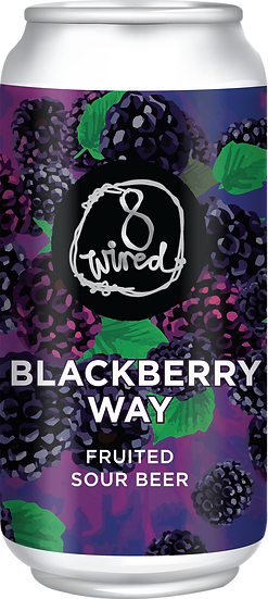 BLACKBERRY WAY Fruited Sour 5.5 % 24 x 440ml CANS