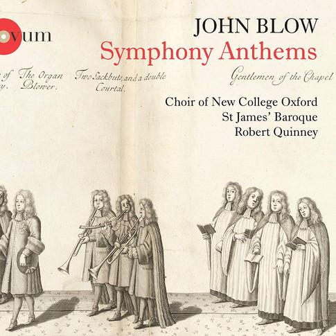 John Blow, Symphony Anthems