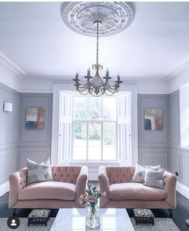 Wall Panelled Living Room