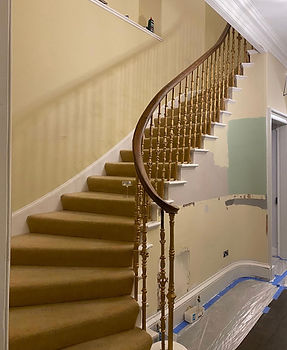 Stairwell Before
