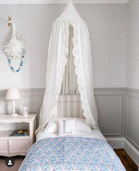 Wall Panelled Bedroom