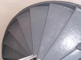 Painted Communal Staircase