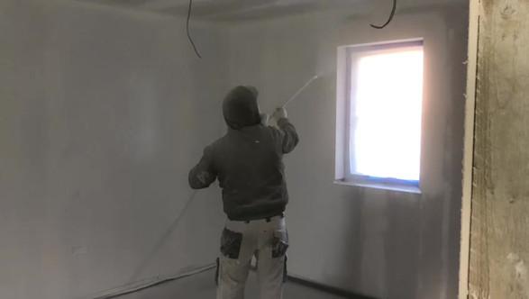 Airless Spraying Plasterboard