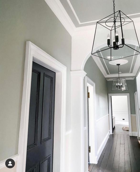 Painted Hallway