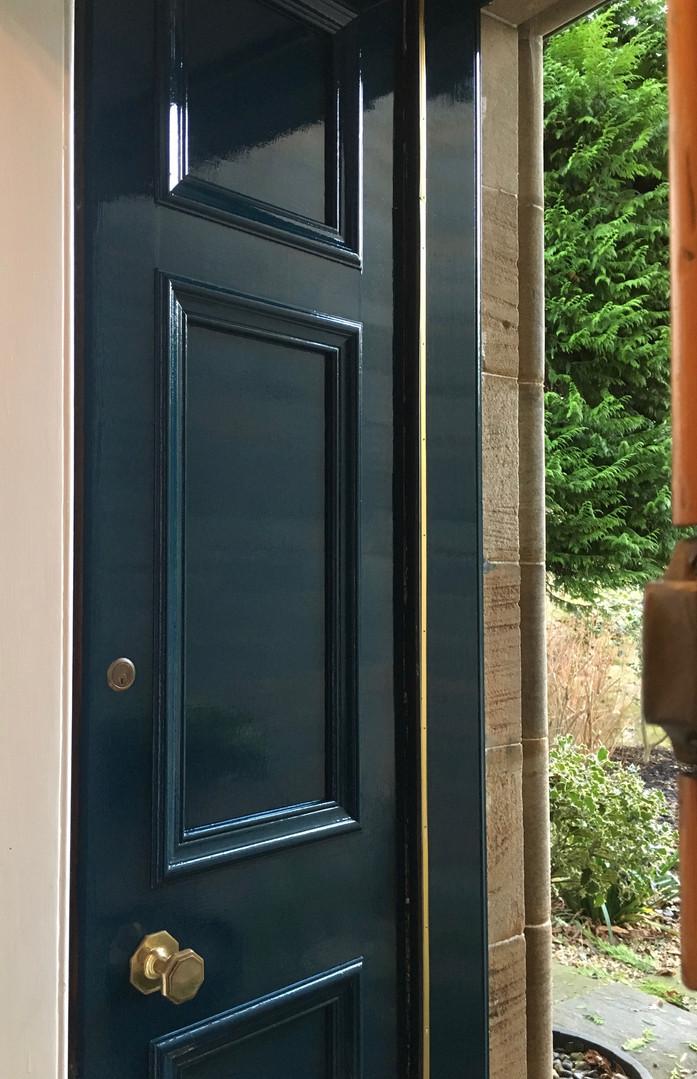 Door Painting Edinburgh