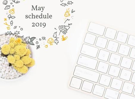 5月の鑑定スケジュール