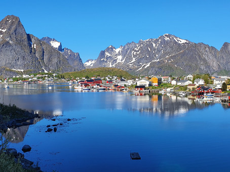 Exploring Reine in Lofoten