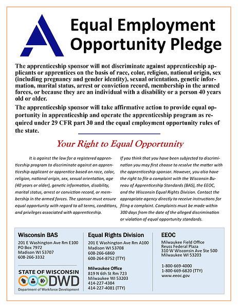 Equal Employment Opportunity Pledge