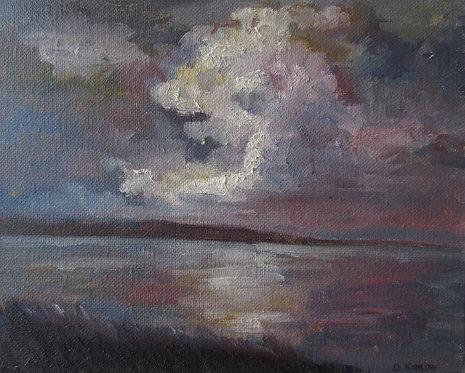"Storm Passing (8x10"")"