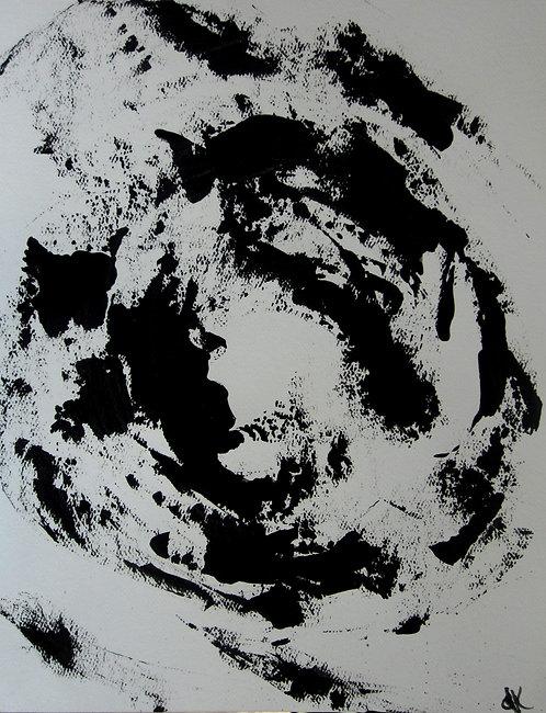 "Untitled #23 (100 Series) (9x12"")"