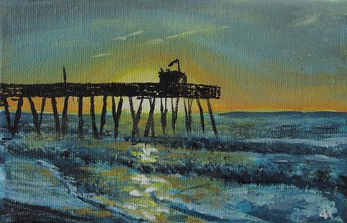 "14th Street Pier  (4x6"")"
