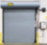 Garage rolling shutter fire resistance blast proof security door