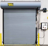 Garage rolling shutter fire resistance blast proof security door