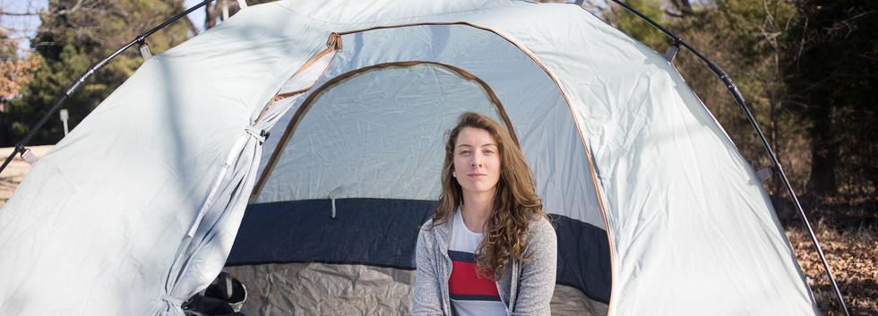 Sequoyah Gravel Adventure - Sara Camping