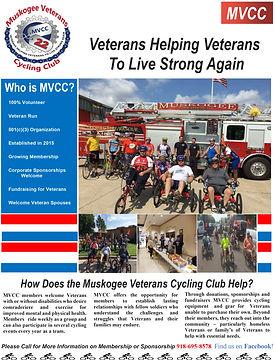 Muskogee Veterans Cycling Club Flyer