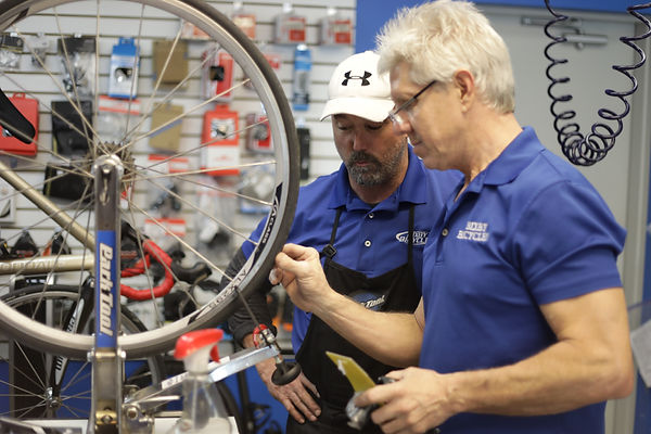 Bixby Bicycles repairs all brands of bikes