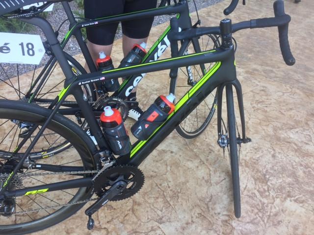 My Cervelo R5 at Brain Bike