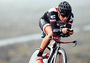 Pro triathlete Caroline Steffens