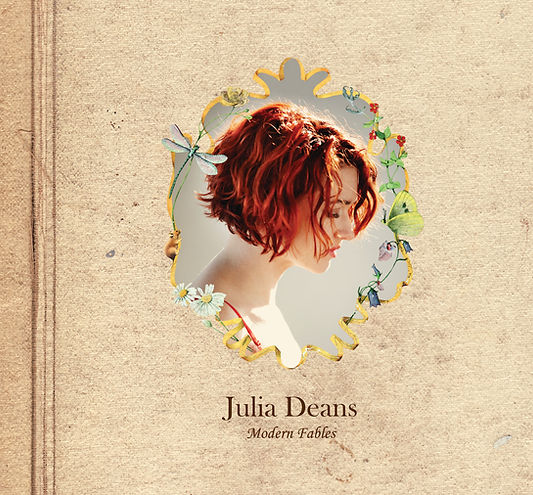 "Julia Deans ""Modern Fables"" album cover"