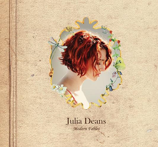 """Julia Deans """"Modern Fables"""" album cover"""