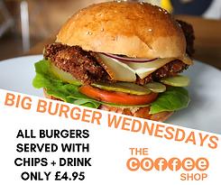 Big Burger Wednesday Promtion