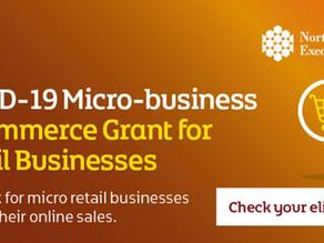 COVID-19 Micro business eCommerce grant