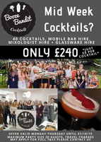 Booze Bandit Promotion Poster