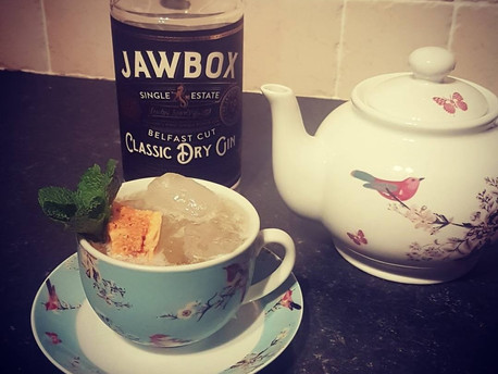 Jawbox Ginger & Honey Gin Tea Recipe
