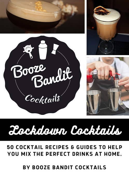 Lockdown Cocktails Recipe eBook