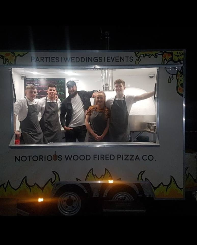 Notorious Wood Fired Pizza Co. Team